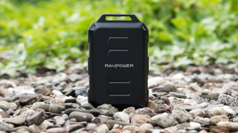 RAVPower 10050mAh Outdoor Powerbank im Test-20