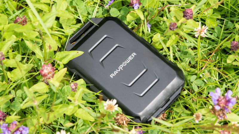 RAVPower 10050mAh Outdoor Powerbank im Test-8