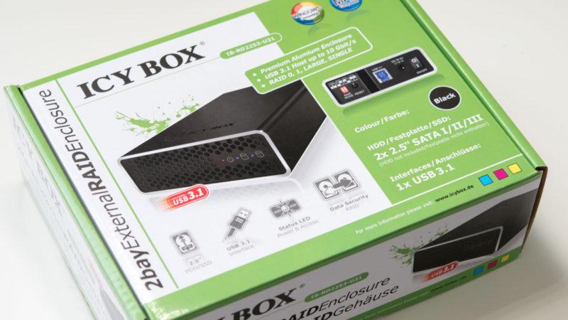 Test ICY BOX IB-RD2253-U31-1
