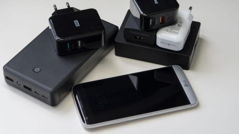 Was bringt Quick Charge 3.0 beim LG G5-3