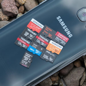 10x 128GB microSD Speicherkarten im Test von SanDisk, Samsung, Toshiba, Lexar, …..