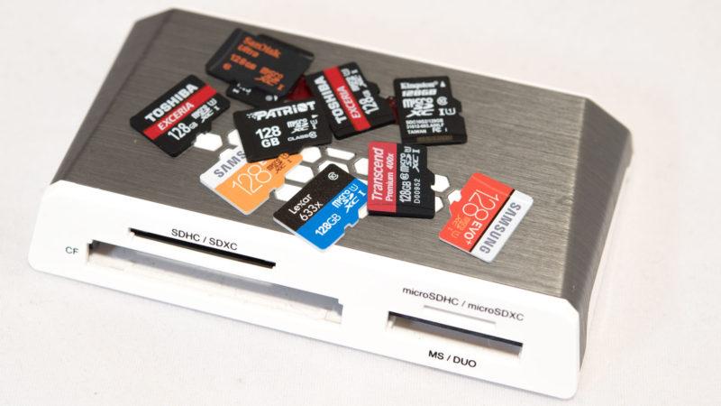 10 128GB microSD Speicherkarten Test Vergleich-5