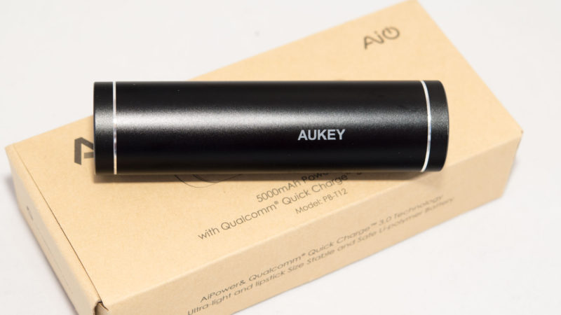 AUKEY 5000mAh Quick Charge 3.0 Test-3