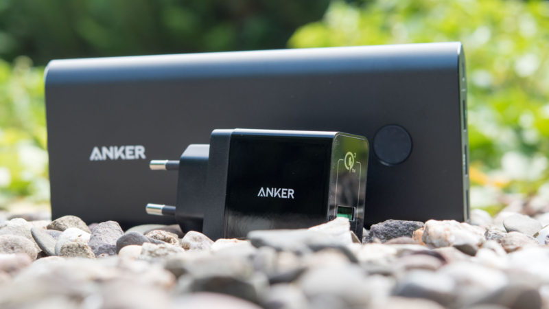 Anker PowerCore+ 26800mAh Premium Externer Akku USB Ladegerät Kombo mit Qualcomm Quick Charge 3.0-21