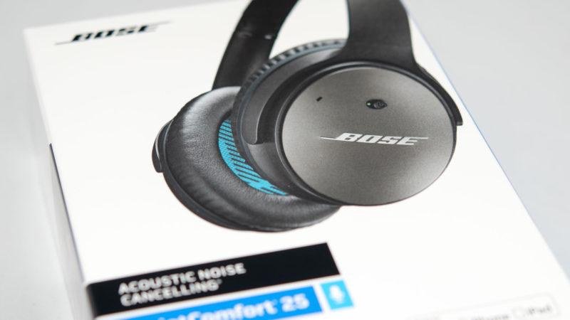 Bose QuietComfort 25 NC Headphones Test-1
