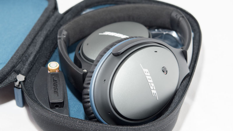 Bose QuietComfort 25 NC Headphones Test-3
