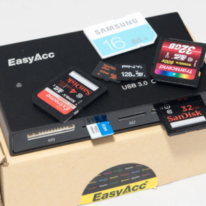 Der EasyAcc C4 USB 3.0 Card Reader im Test