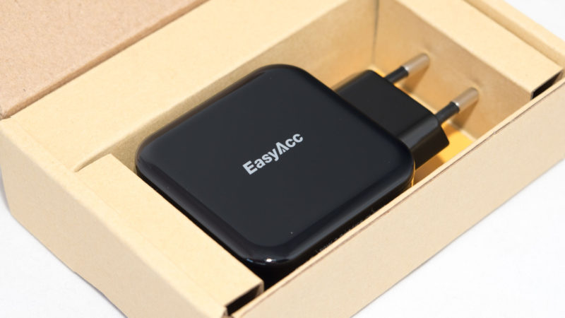 EasyAcc Quick Charge 3.0 Ladegerät Test-2