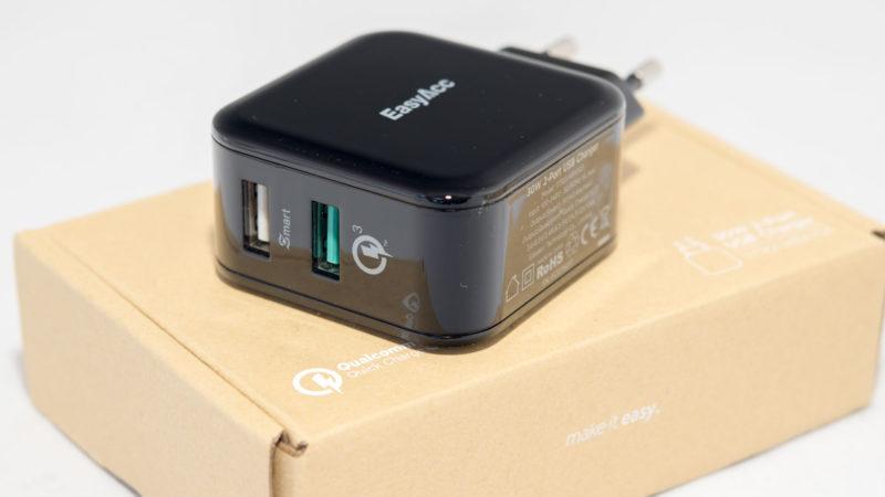 EasyAcc Quick Charge 3.0 Ladegerät Test-4