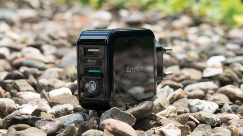 EasyAcc Quick Charge 3.0 Ladegerät Test-6