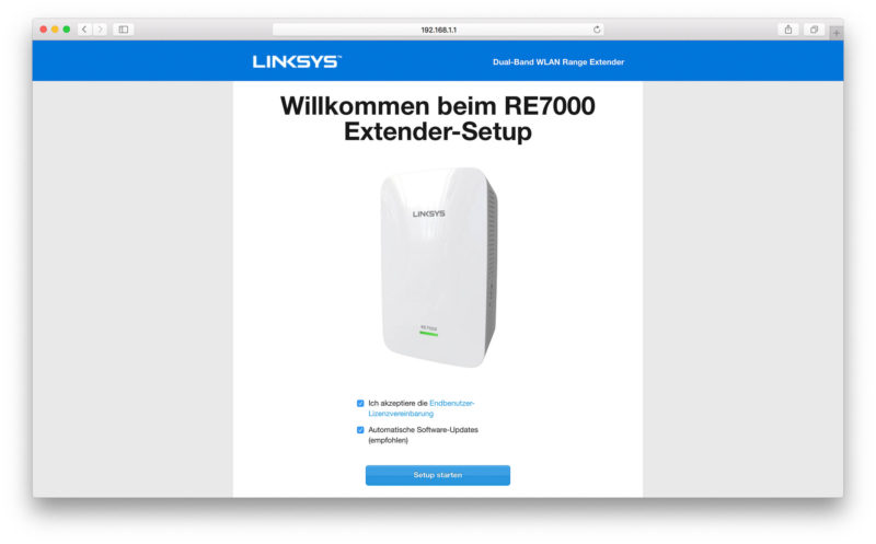 Linksys RE7000 Software-1