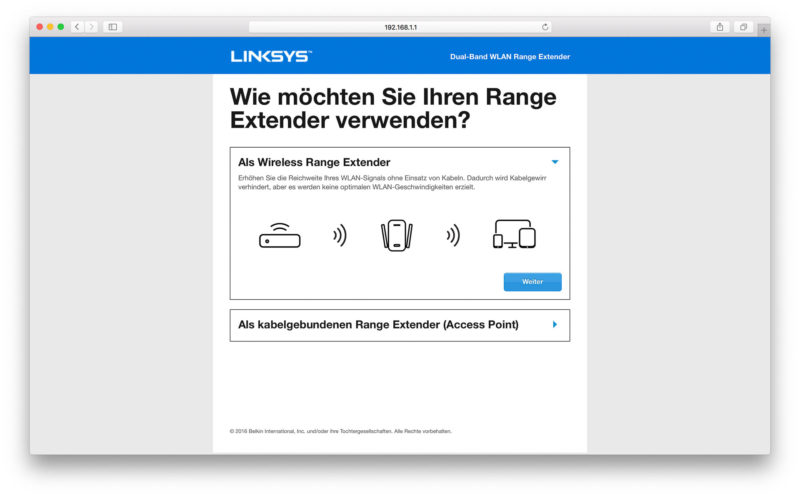 Linksys RE7000 Software-4