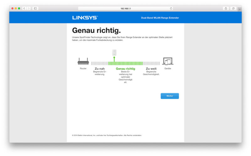 Linksys RE7000 Software-7