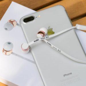 Perfekt gerüstet fürs iPhone 7, die Sudio Vasa Blå Bluetooth Ohrhörer im Test, stylisch und gut?