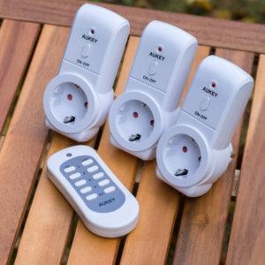 AUKEY Funksteckdosen Set aus 3 Funksteckdosen und 1er Fernbedienung im Test
