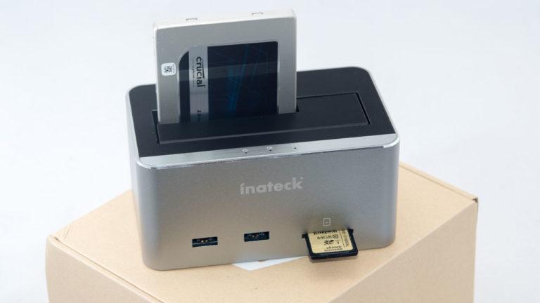 Inateck Festplatten Dockingstation mit USB HUB und Speicherkartenleser im Test