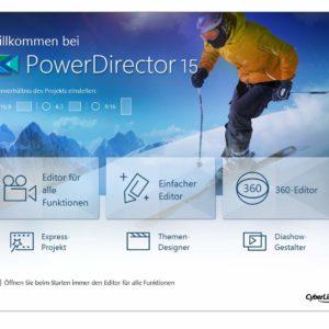 CyberLink PowerDirector 15 Ultra im Test, Semi-professioneller Videoschnitt für Daheim?!