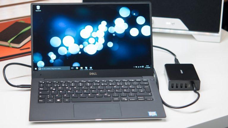 Das Dell XPS 13 via USB C laden, Infos und Details