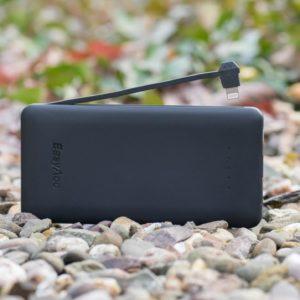 EasyAcc PB6000CBL 6000mAh Powerbank mit intigriertem Apple Lightning Kabel im Test