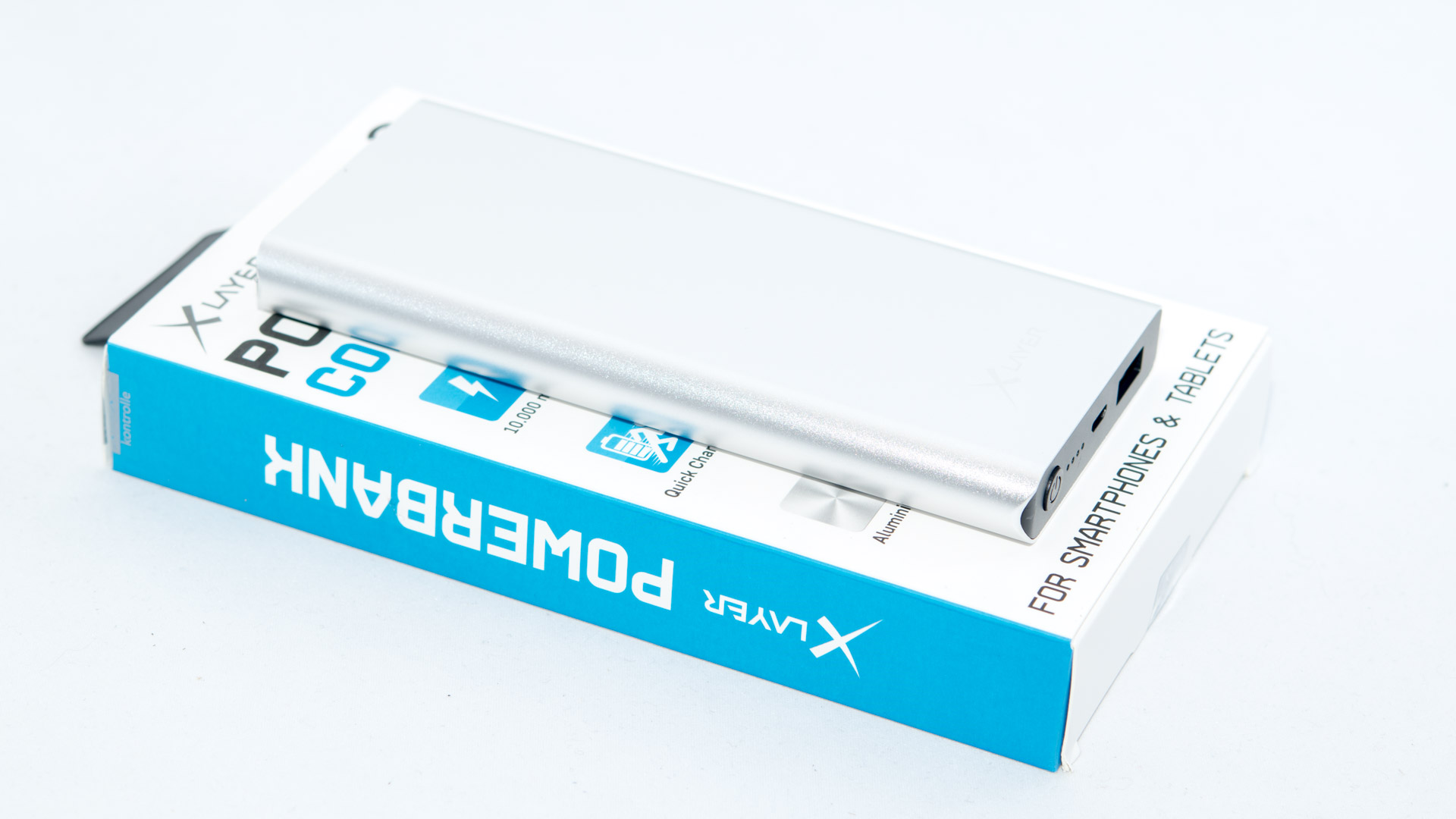 Die Xlayer Comfort Pro 10000 Mit Quick Charge Im Test Fast Samsung Galaxy S9 Free Anker Powerbank Mah Purple