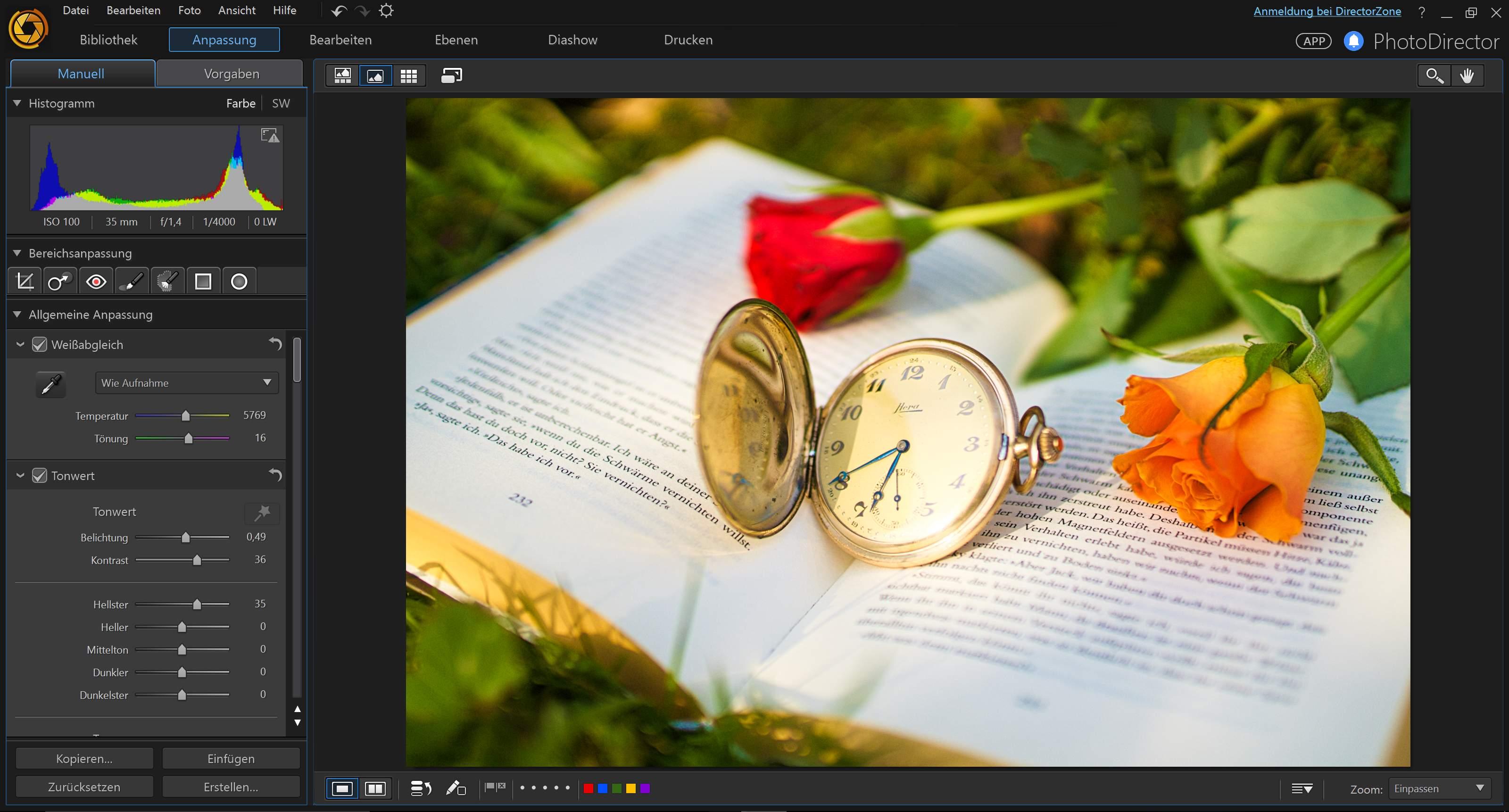 how to use cyberlink photodirector