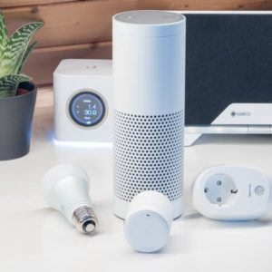 Vier Smart Home Systeme für Amazon Echo/Alexa in der Kurzvorstellung