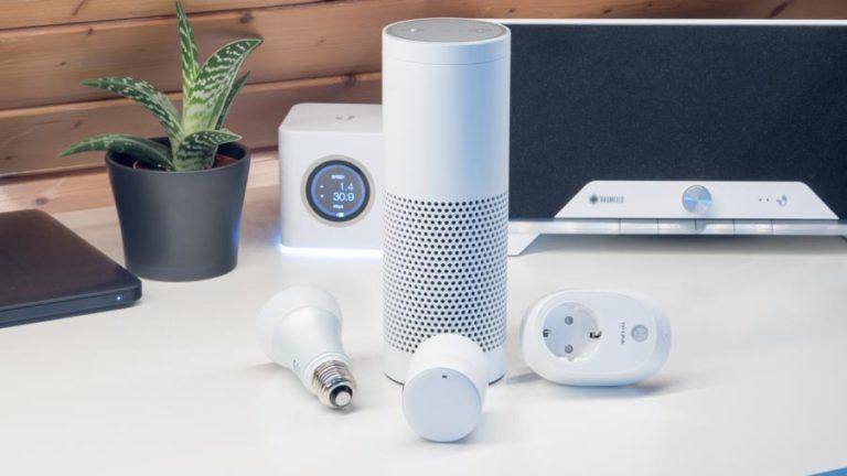 Vier Smart Home Systeme für Amazon Echo/Alexa in der Kurzvorstellung