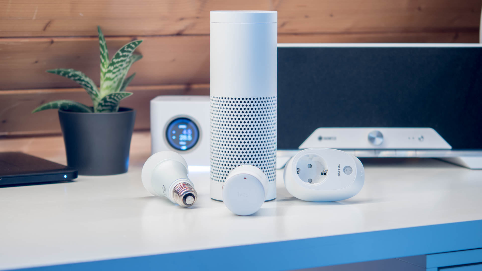 vier smart home systeme f r amazon echo alexa in der kurzvorstellung techtest