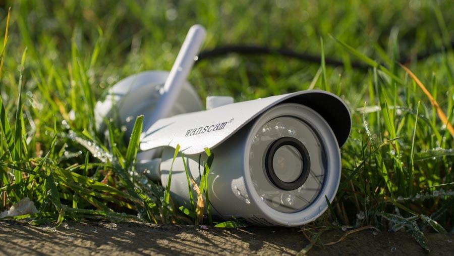 die wanscam hw0043 outdoor berwachungskamera im test. Black Bedroom Furniture Sets. Home Design Ideas