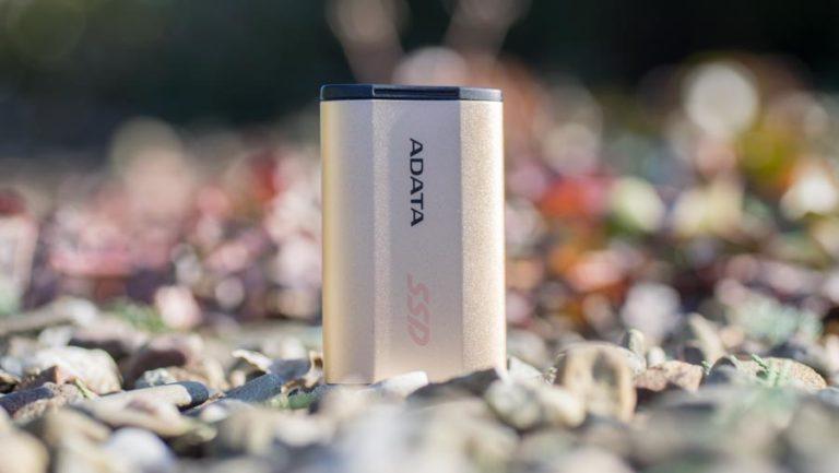 Kompakte USB 3.1 SSD von ADATA im Test, die ADATA SE730