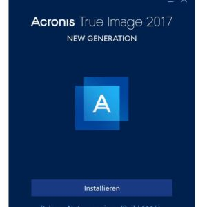Acronis True Image 2017 im Test, die beste Backup Software?!
