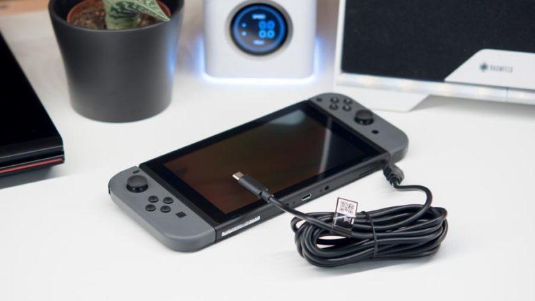 3 Meter Ladekabel für die Nintendo Switch von Speedlink im kurz Test, Das Speedlink Stream Play & Charge USB Ladekabel für die Switch im Test