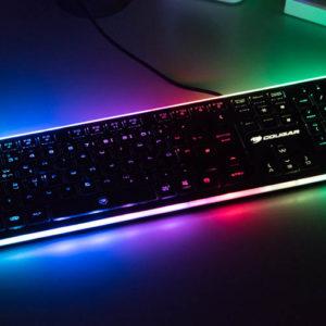 Die Cougar Vantar Tastatur im Test, die RGB LED Show auf dem Schreibtisch für 35€!
