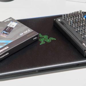 Razer Blade SSD Upgrade