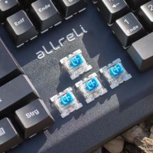 Mechanische RGB beleuchtete Tastatur mit QWERTZ Layout für unter 60€!? Die aLLreLi K643 im Test!