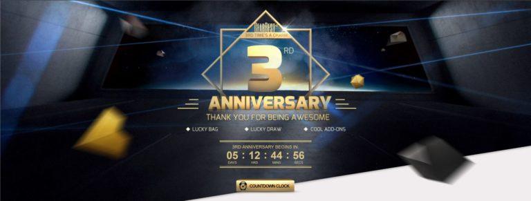 Gearbests 3. Geburtstag mit einem kleinen Gewinnspiel (Xiaomi Redmi Note 4).