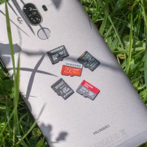 5x 256GB microSD Speicherkarten im Vergleich (Samsung, Kingston, Patriot, SanDisk, Integral)