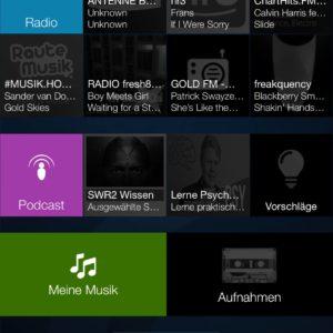 Audials Radio App für IOS im kurz Test