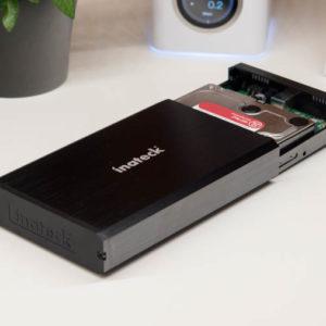 Das Inateck 3,5 Zoll USB 3.0 Festplattengehäuse im kurz-Test