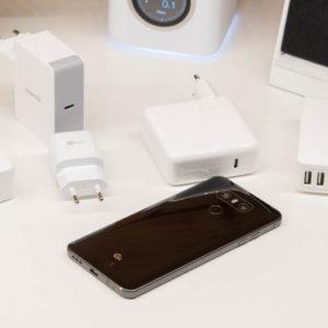 Das LG G6 unterstützt USB Power Delivery und Quick Charge!
