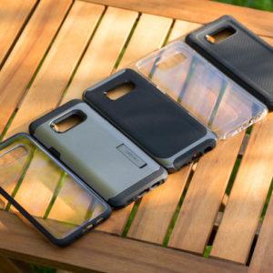 5x Spigen Hüllen für das Samsung Galaxy S8 Plus im Vergleich