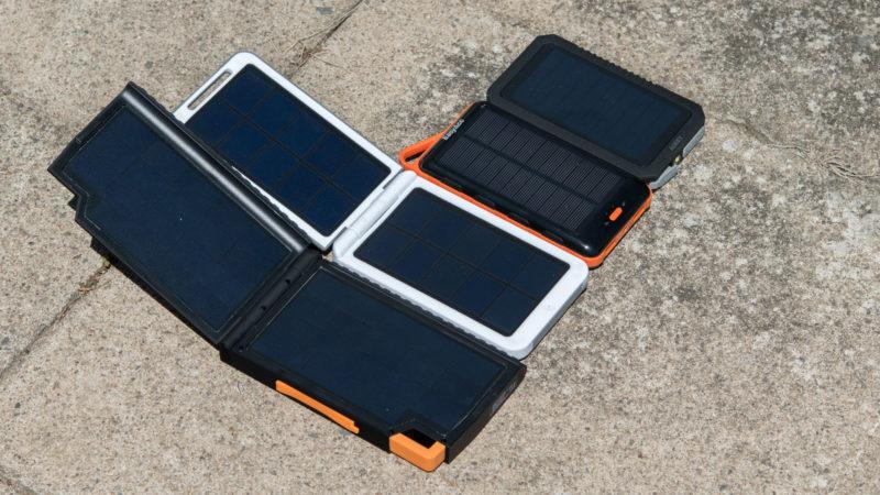 Die besten Solar Powerbanks 2017