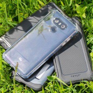 Hüllen von Spigen für das LG G6 im Vergleich
