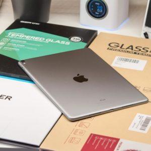 5x Glas Displayschutz Folien für das Apple iPad Pro 10.5 im Vergleich