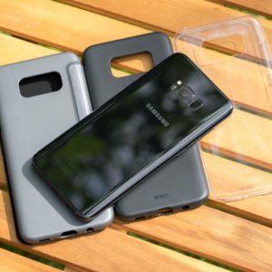 Artwizz Hüllen für das Samsung Galaxy S8+ im Vergleich