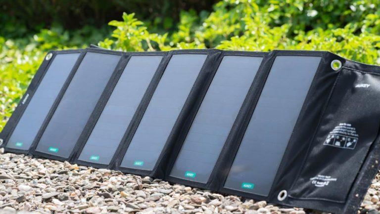 Das AUKEY PB-P7 im Test, satte 42W Solar Leistung!