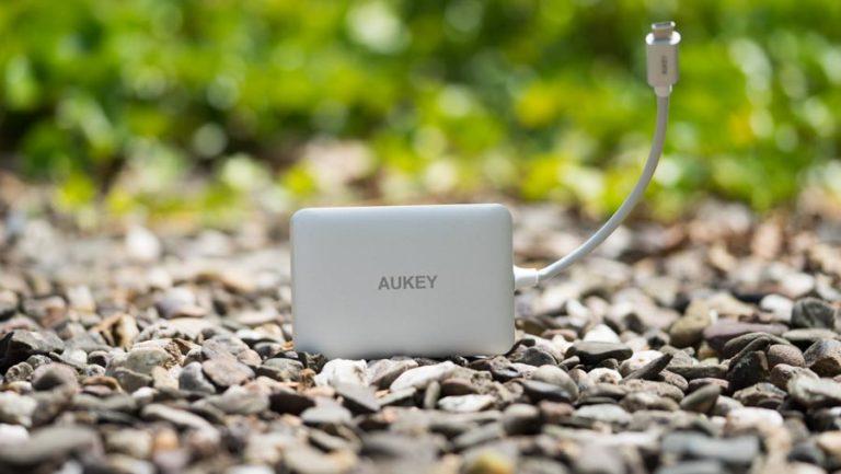Der AUKEY CB-C59 USB Type C Hub im Test (USB 3.0, HDMI, SD Karten Leser)