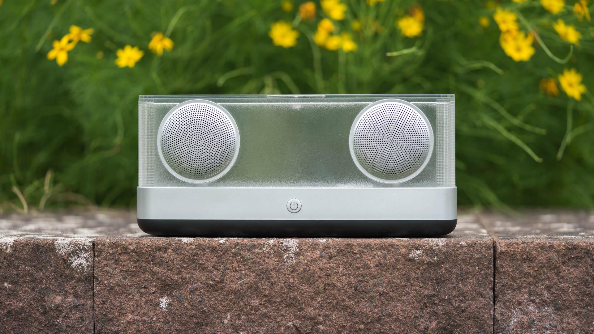 Der inateck bp2003 bluetooth lautsprecher im test sieht gut aus aber klingt er auch gut - Bluetooth lautsprecher wohnzimmer ...