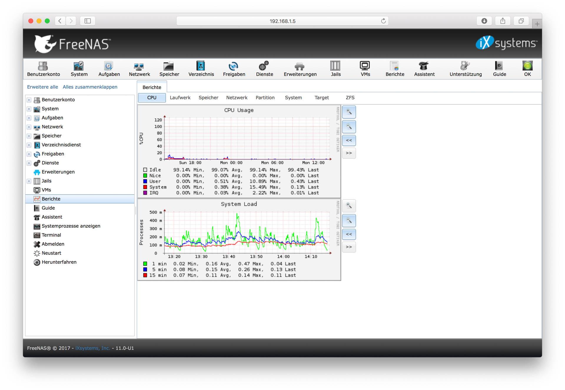 Günstiges FreeNAS System mit ECC RAM und Workstation