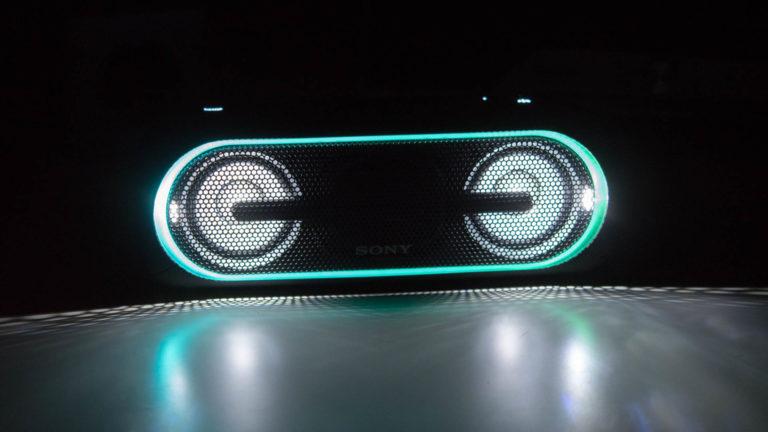 Der Sony SRS-XB40 im Test, Bluetooth Lautsprecher mit eingebauter Lichtshow, unnötig aber Cool!